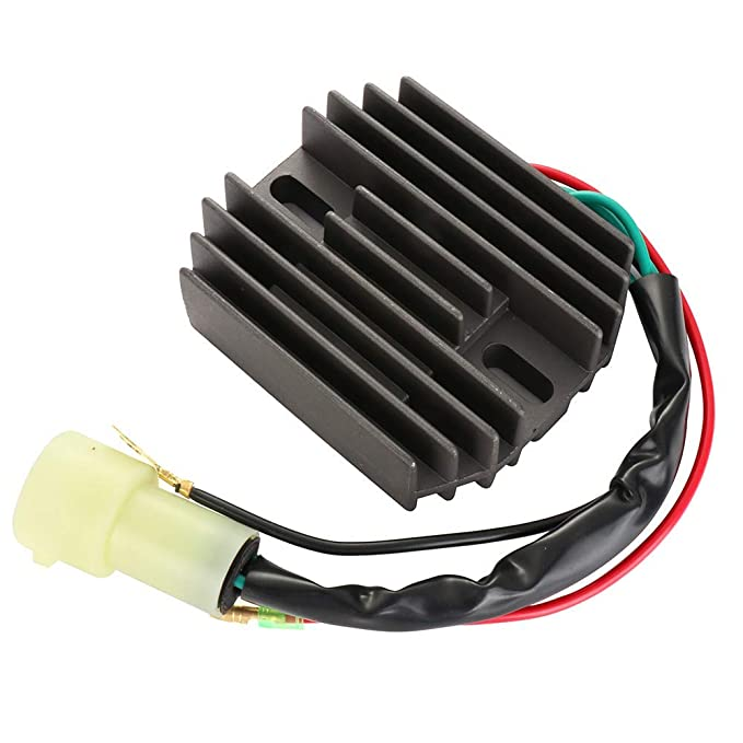 SCITOO Regulator Rectifier 804278A12 Replacement Voltage Regulator Rectifier Fit for Mercury Marine Outboard 2000-2005 75HP 4-Stroke Engine 2000-2005 90HP 4-Stroke Engine 804278A12