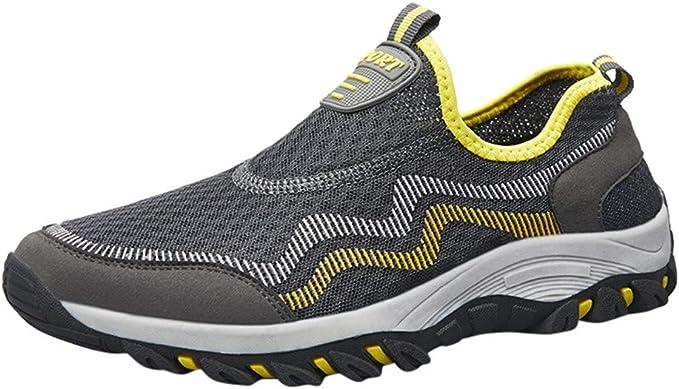 Mxjeeio 💖 Zapatillas Minimalistas Parejas Zapatos de Malla ...