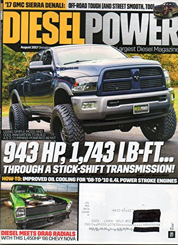 Diesel Power 2017 DIESEL MEETS DRAG RADIALS WITH THIS 1,450HP 1966 CHEVY NOVA '17 GMC Sierra Denali: Off-Road Tough (And Street Smooth, Too) EASIER ENTRY AND EXIT THANKS TO AMP RESEARCH