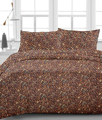 Print 4 Piece Cotton (#1 Bed Sheet Set - HIGHEST QUALITY 100% Egyptian Cotton 800 Thread-Count Wrinkle, Fade, Stain Resistant - 4 Piece 16