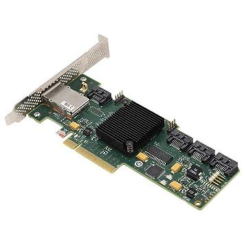 Tarjeta controladora SAS de 6 GB Tarjeta SATA SATA + Array ...
