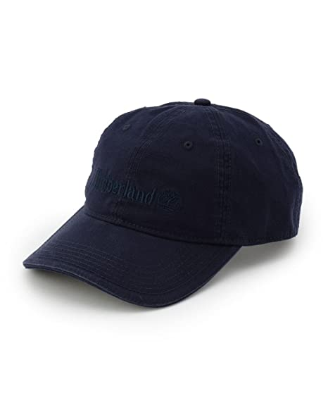 e57b52f3f Timberland Canvas Baseball Men Hat Blue (U): Amazon.co.uk: Clothing