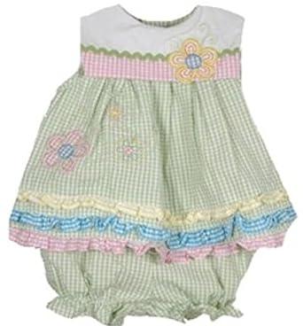 Seersucker Dresses for Little Girls