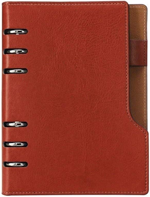 8HAOWENJU Business Loose-Leaf Notebook Best Gift Thick Notebook Loose-Leaf Conference Notebook Stationery Work Notebook