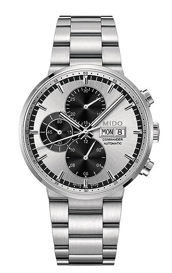 Mido Reloj Analógico para Hombre de Automático con Correa en Acero Inoxidable M014.414.11.031.09: Amazon.es: Relojes