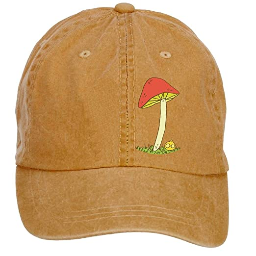 b18b36ff2c9 Amazon.com  Sungboys Unisex Mushrooms Sports Baseball Hats Caps  Clothing
