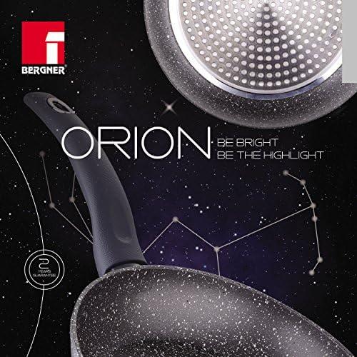 Bergner Orion–Grill, diamètre 28cm, Couleur Gris