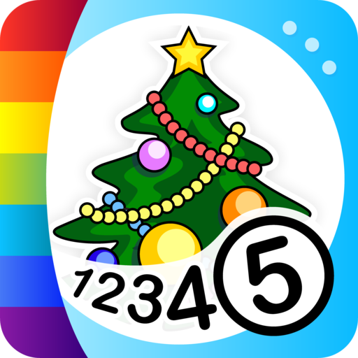 Color by Numbers - Christmas (Number Christmas Tree Color By)