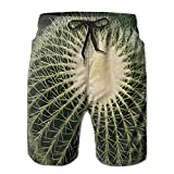 Cactus Cacti Mens Summer Beach Short Quick Dry Swim Surf Trunks