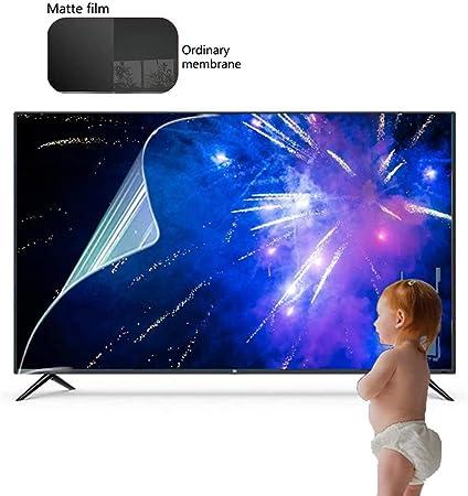 KDJJH Antiazul Filtro 75 Pulgadas Protector de Pantalla de TV, Antideslumbrante TV Protección de Pantalla Filtros ProteccióN para Los Ojos para LCD/LED y Plasma HDTV televisor,75inch/1645x931mm: Amazon.es: Hogar