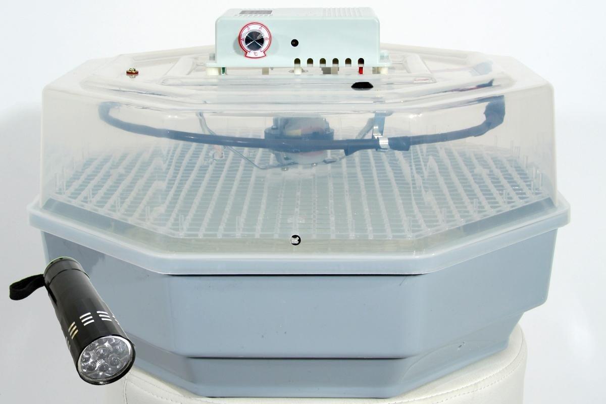 Qubeat Semi-automatiques oeufs incubateur BK60,60 éleveur de poulet, la machine à couver, Hatcher, la machine de reproduction Qubeat GmbH