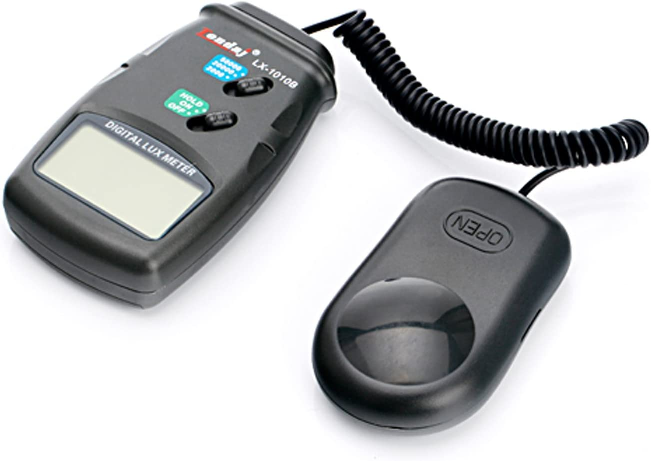 Precise Light meter Handheld digital lux meter LX1010BS light measurement Range:1~100,000Lux Electronic testing equipment