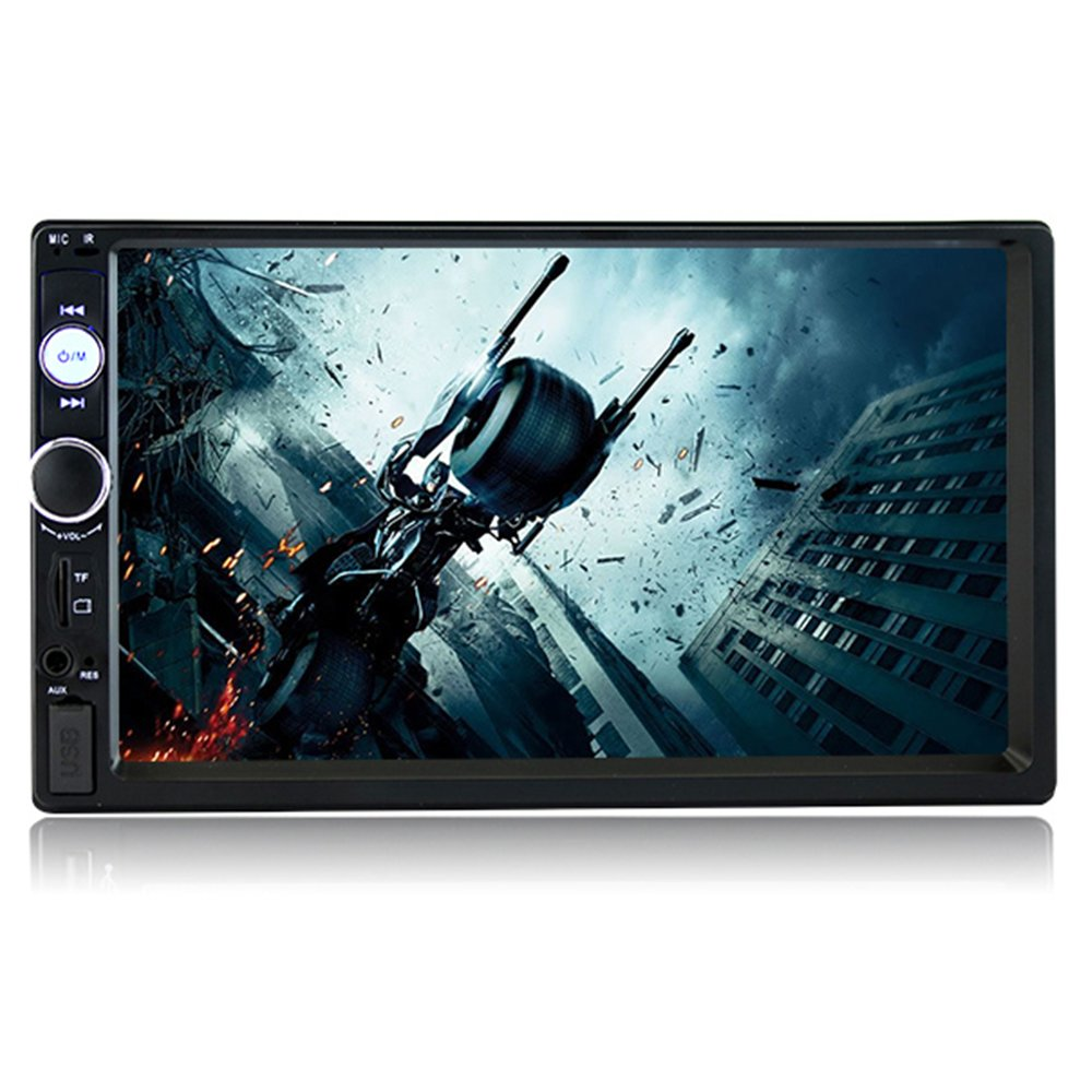 Amazon.com: SPEEDTON 7 inch Double Din Touch Screen Car Stereo MP5 ...