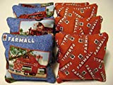 8 Cornhole Farmall International Harvester Mccormick Bean Bag Corn Hole Tractor