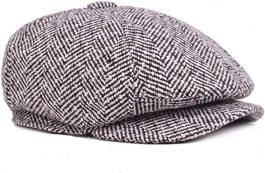 GESDY Cotton Newsboy Beret Hat Vintage Flat Ivy Cabbie Driving Hat Cap