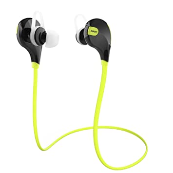 0956238bbd5 Bluetooth Headphones, AUKEY Wireless Stereo Sport Running Sweatproof Earbuds  with Built-in Mic for for Smartphones: Amazon.ca: Electronics