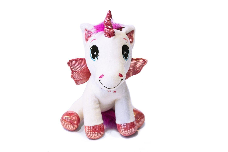 Peluches - Pack 5 Unicornios (Le monde magique des licornes) 25 CM (azul, verde, blanco, rosa, amarillo) - Calidad Super Soft: Amazon.es: Juguetes y juegos