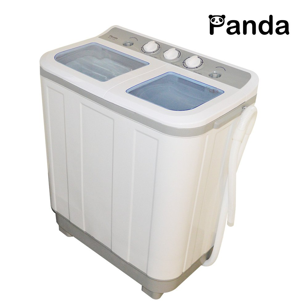 Amazon.com: Panda Small Compact Portable Washing Machine(10lbs ...