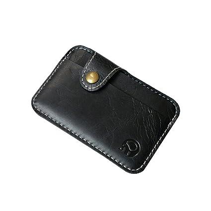b7a91bdab873 Amazon.com : Zhi Jin Retro Leather Credit Card Protector Wallet ...
