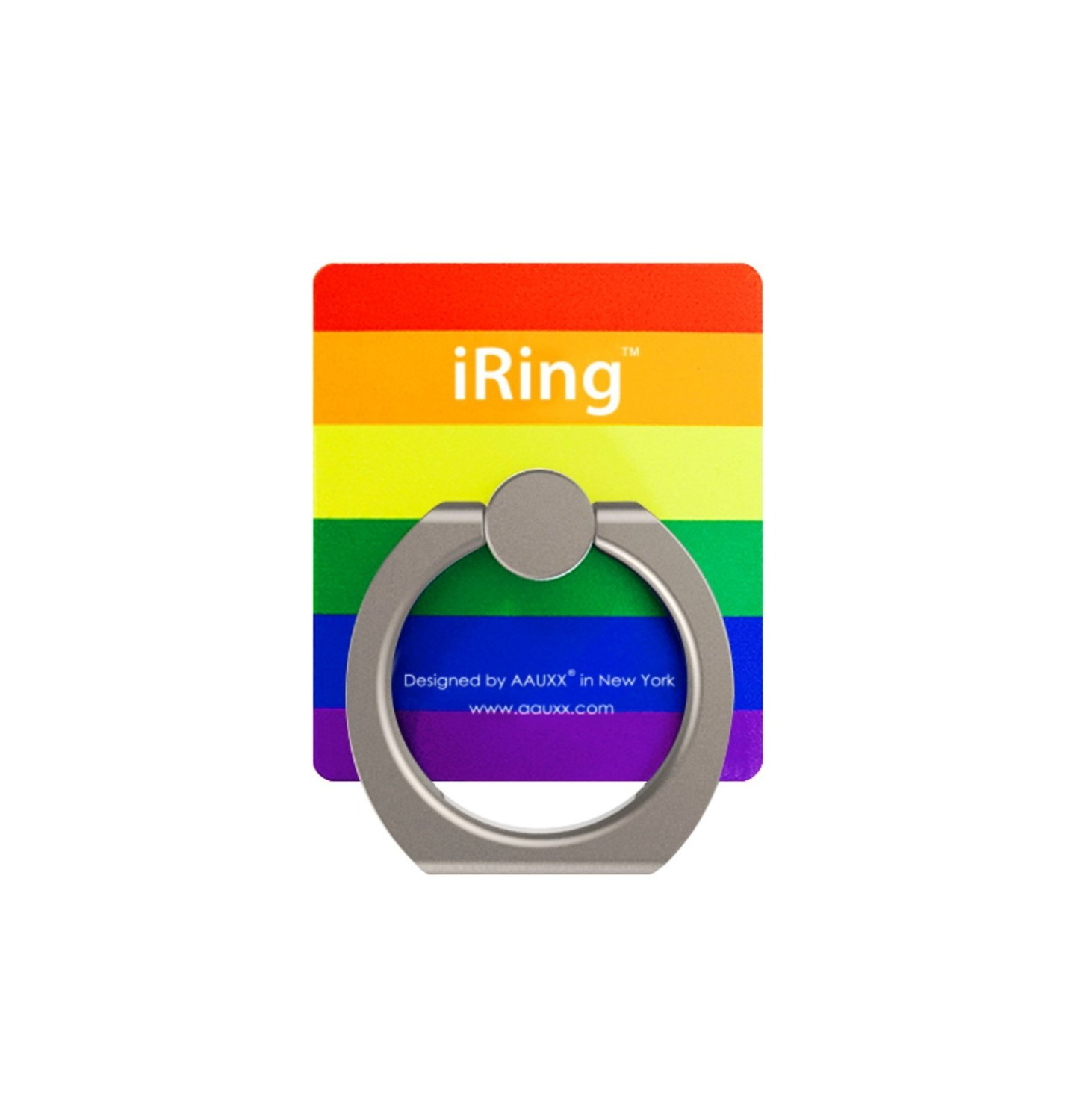 Iring Universal Masstige Ring Grip Stand Holder For Any Smart Device Hook Rainbow Electronics