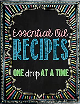 Essential Oil Recipes Drop Time ebook product image