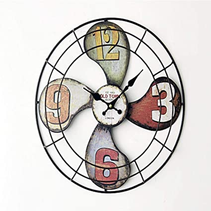Battery Powered Clock For Home Decoration