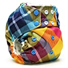 Rumparooz One Size Cloth Pocket Diaper Snap, Preppy