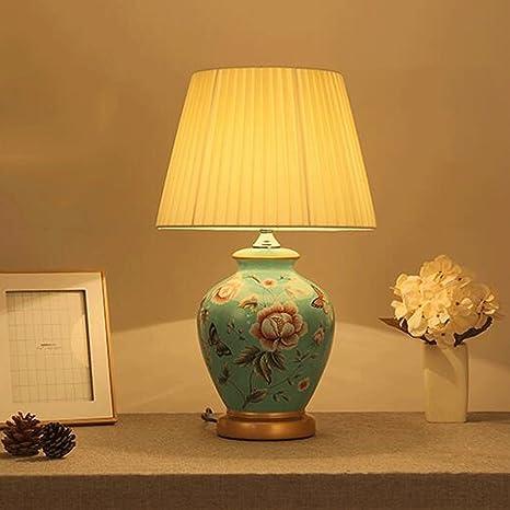 Hotel Lámpara de Mesa de cerámica Oriental Grande Lámpara de ...