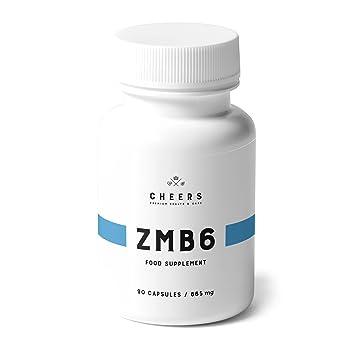 Suplemento de magnesio por Cheers - ZMB6 - Citrato de magnesio altamente absorbible con zinc y