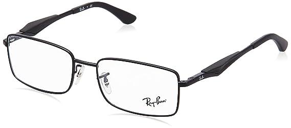 f79d29a46420 Amazon.com  Ray-Ban Men s RX6284 Eyeglasses Matte Black 55mm  Shoes