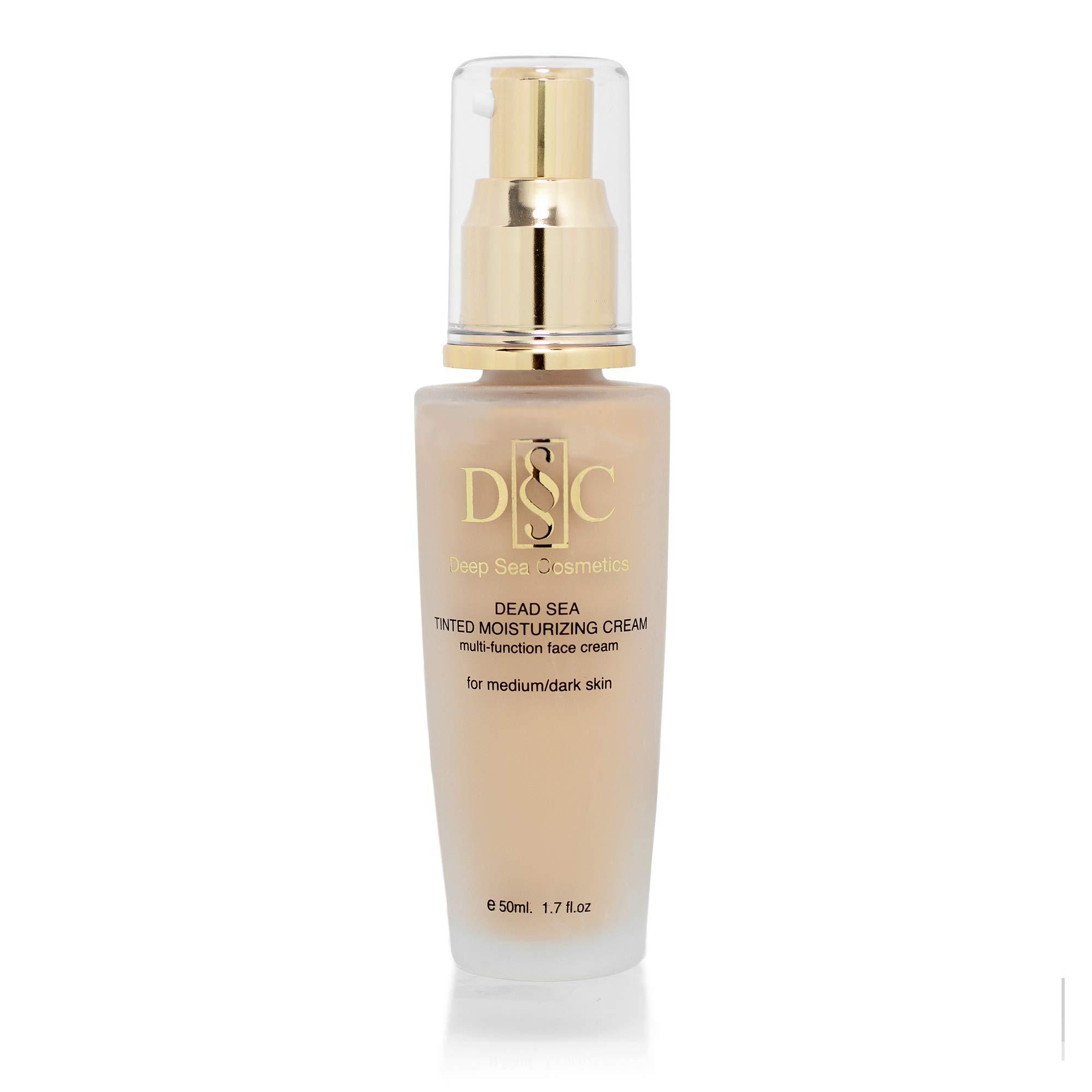 Deep Sea Cosmetics   Tinted Moisturizing Cream For Medium - Dark Skin