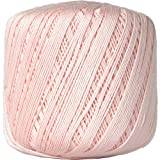 Crochet Thread - Size 10 - Color 4 - LT PINK - 2 Sizes - 27 Colors Available