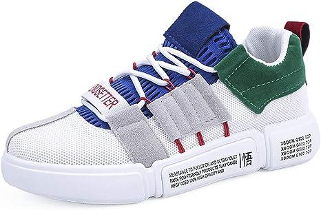 LuckyGirls Zapatos para Hombres Malla Transpirable Casual Color de Mezcla Patchwork Zapatillas de Correr Running Calzado Deportivo: Amazon.es: Deportes y aire libre