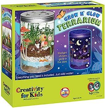 Creativity For Kids Grow 'N Glow Terrarium Science Kits