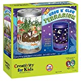 Creativity For Kids Grow 'N Glow Terrarium Science Kits for Kids - Create Your Own Mini Ecosystem, Educational Toys