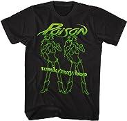 American Classics Poison Rock Band Unskinny Bop Girls Black Adult T-Shirt Tee