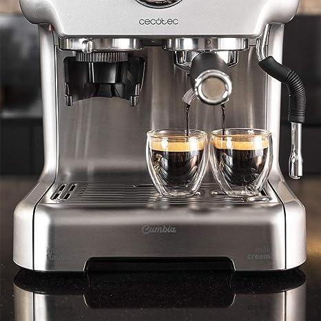 Cecotec Cafetera Cumbia Power Espresso 20 Barista Aromax. Potencia ...