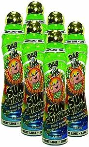 Six Pack 4oz Sunsational Lime Green Bingo Dauber