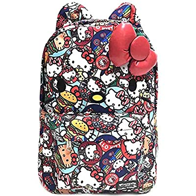 36464ddaacc Loungefly x Hello Kitty Button AOP Backpack Multi 85%OFF ...