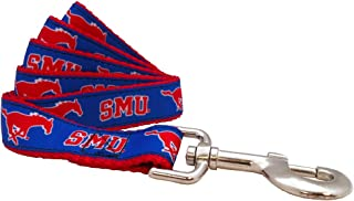 product image for NCAA SMU Mustangs Dog Leash, Red, X-Small/4-Feet