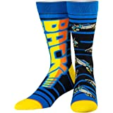 Odd Sox, Unisex, Movies, Back to the Future, Crew Socks, Novelty Cool Fun 80s