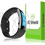 Microsoft Band 2 Screen Protector [2015][Full Coverage], IQ Shield® LiQuidSkin - Full Body (Front & Back) & Lifetime Warranty - HD Ultra Clear Film Guard - Smooth / Self-Healing / Bubble-Free Shield