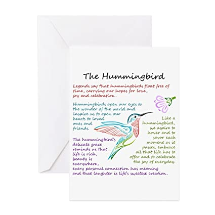Amazon cafepress the hummingbird greeting cards greeting cafepress the hummingbird greeting cards greeting card note card birthday card m4hsunfo