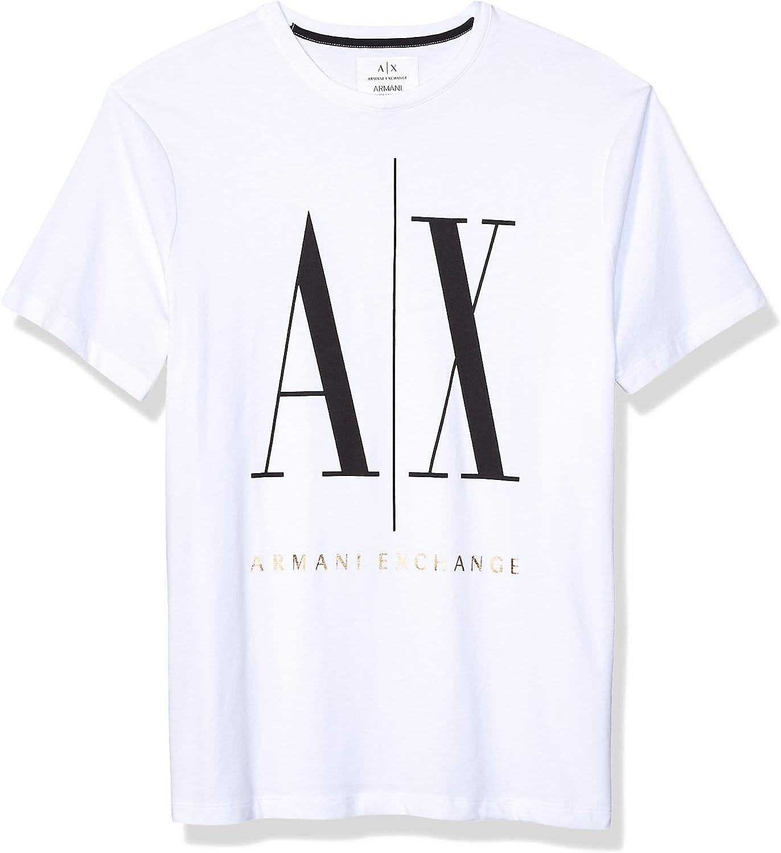 Armani Exchange 8NZTPA-ZJH4Z Camiseta Hombre S: Amazon.es: Ropa y accesorios