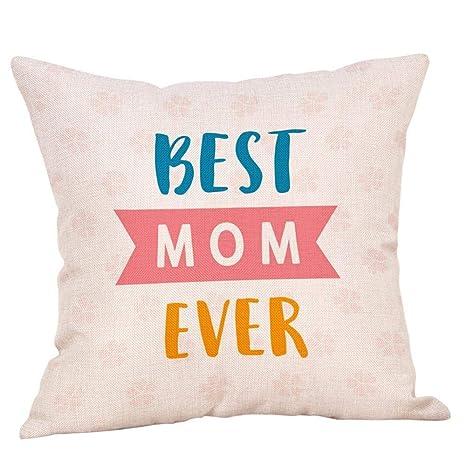 VJGOAL Impresión del día de la Madre cómoda de algodón de ...