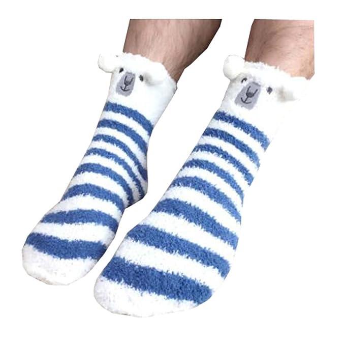 1 Par de calcetines adultos de lana de Coral Fleece Calcetines de ...