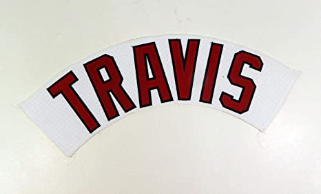 new styles 8fdb3 2d44f Portland Sea Dogs Sam Travis Game Used White Jersey Name ...