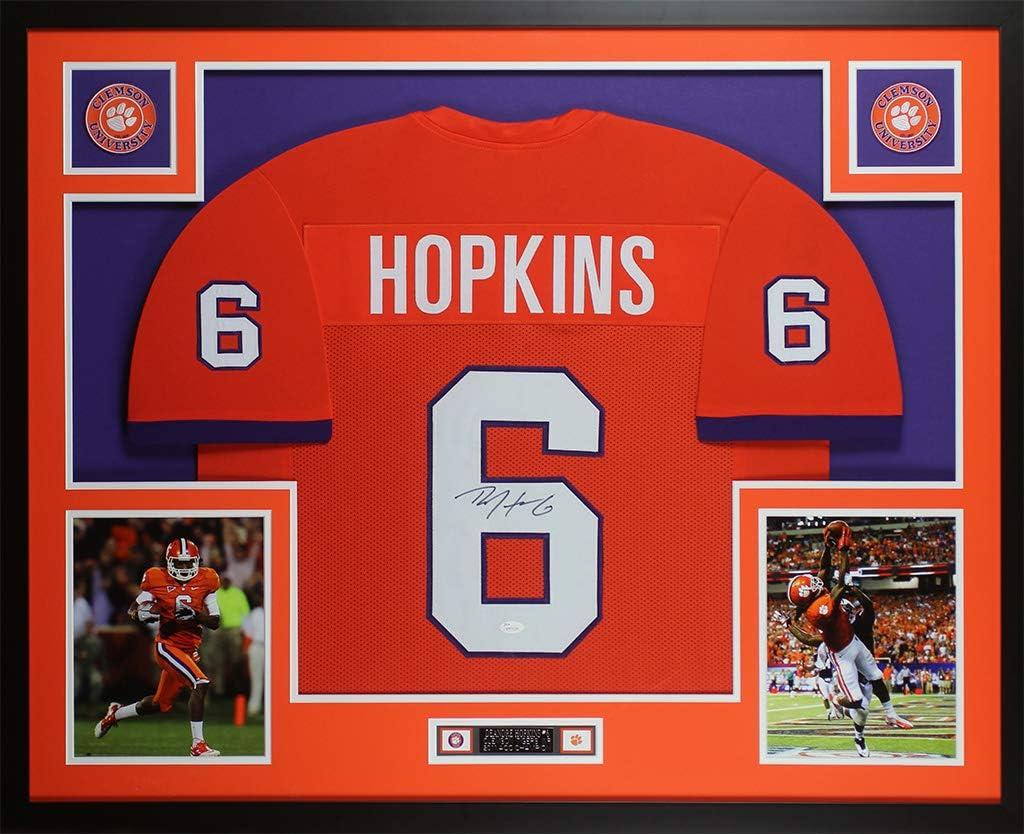 Amazon.com: DeAndre Hopkins Autographed Orange Clemson Jersey ...