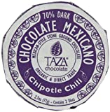 Taza Chocolate Mexicano Chocolate Disc, Chipotle, 2.7 Ounce (Grocery)