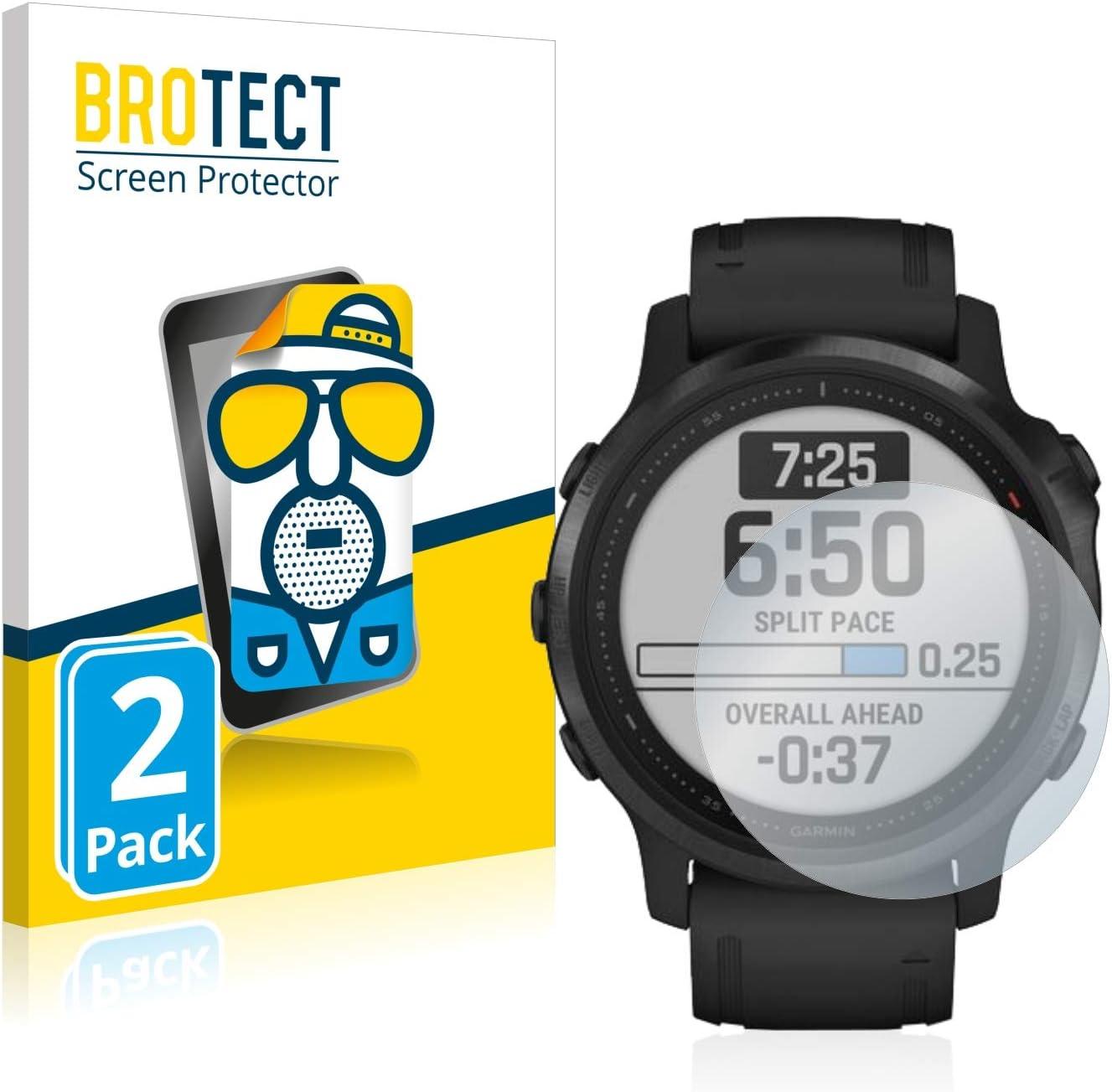 Film Protection Ecran Mat 2 Pi/èces brotect Protection Ecran Anti-Reflet Compatible avec Garmin Fenix 6S Pro